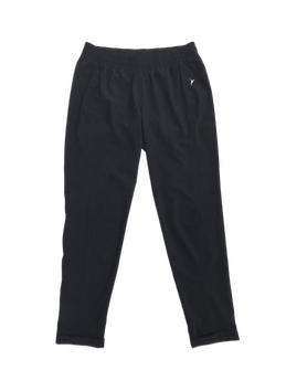 Jogger Old Navy, activewear, tela tipo taslan negro, pretina regulable con pasador y dobladillo en la basta.  foto 1
