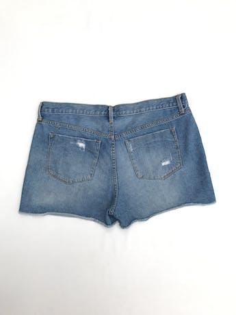 Short Mossimo 100% algodón denim focalizado y rasgado Talla 12 (L) foto 2