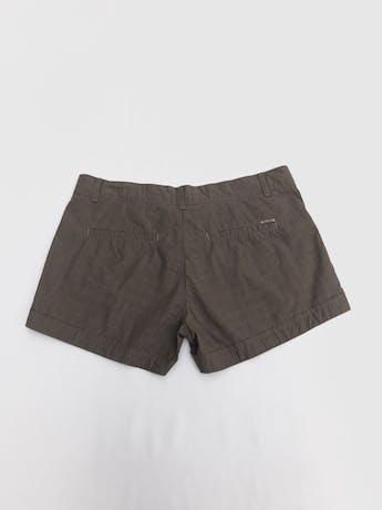 Short Scombro 100% algodón marrón tipo cuadros Talla 31 foto 2