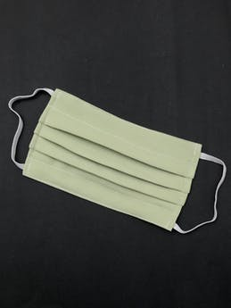 ADULTO - Mascarilla anatómica de doble capa de algodón y filtro notex, elástico de 3 ligas para las orejas. Cubre de nariz hasta mentón - reutilizable - se recomienda lavar antes de usar foto 1
