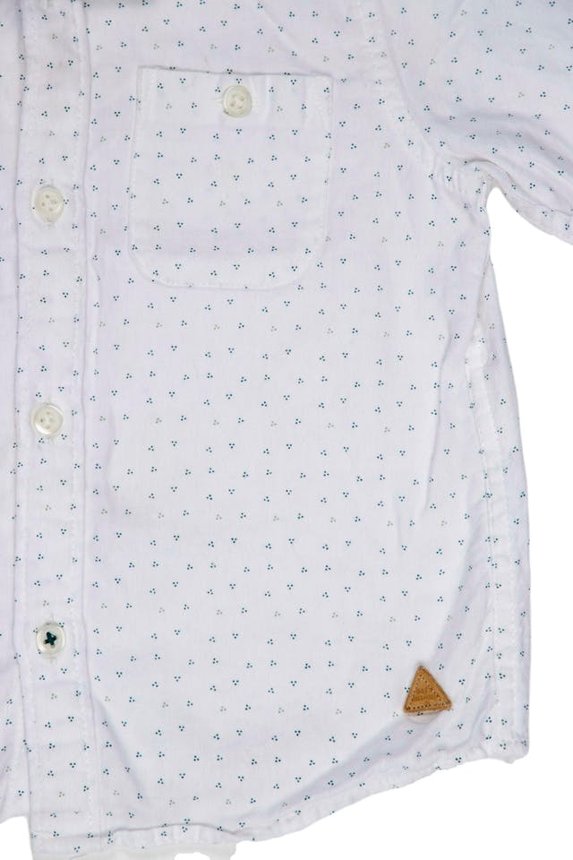 Camisa blanca, tela suave - Zara foto 2