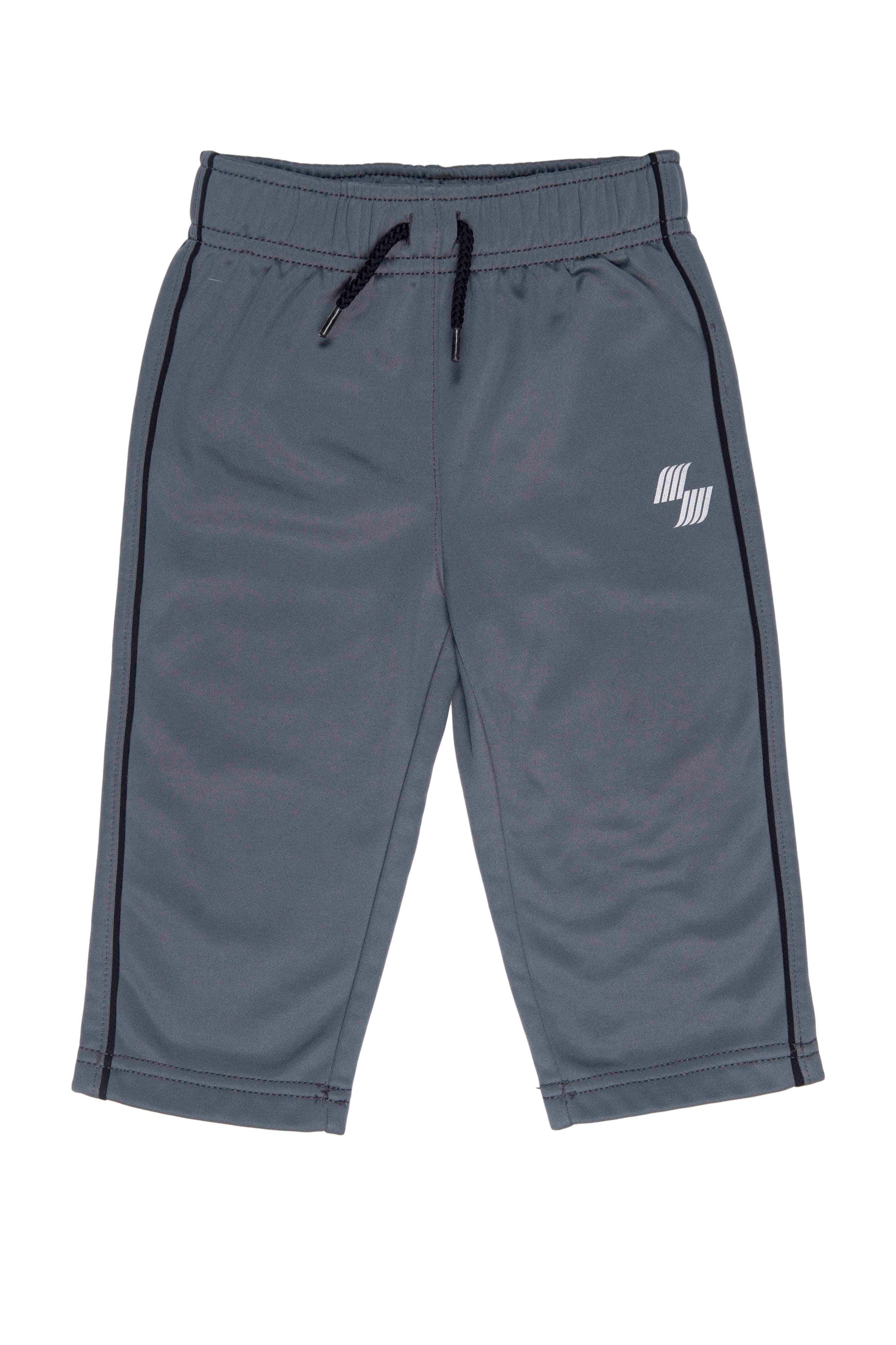 Pantalón buzo gris, interior afranelado, elástico a la cintura - Place Sport