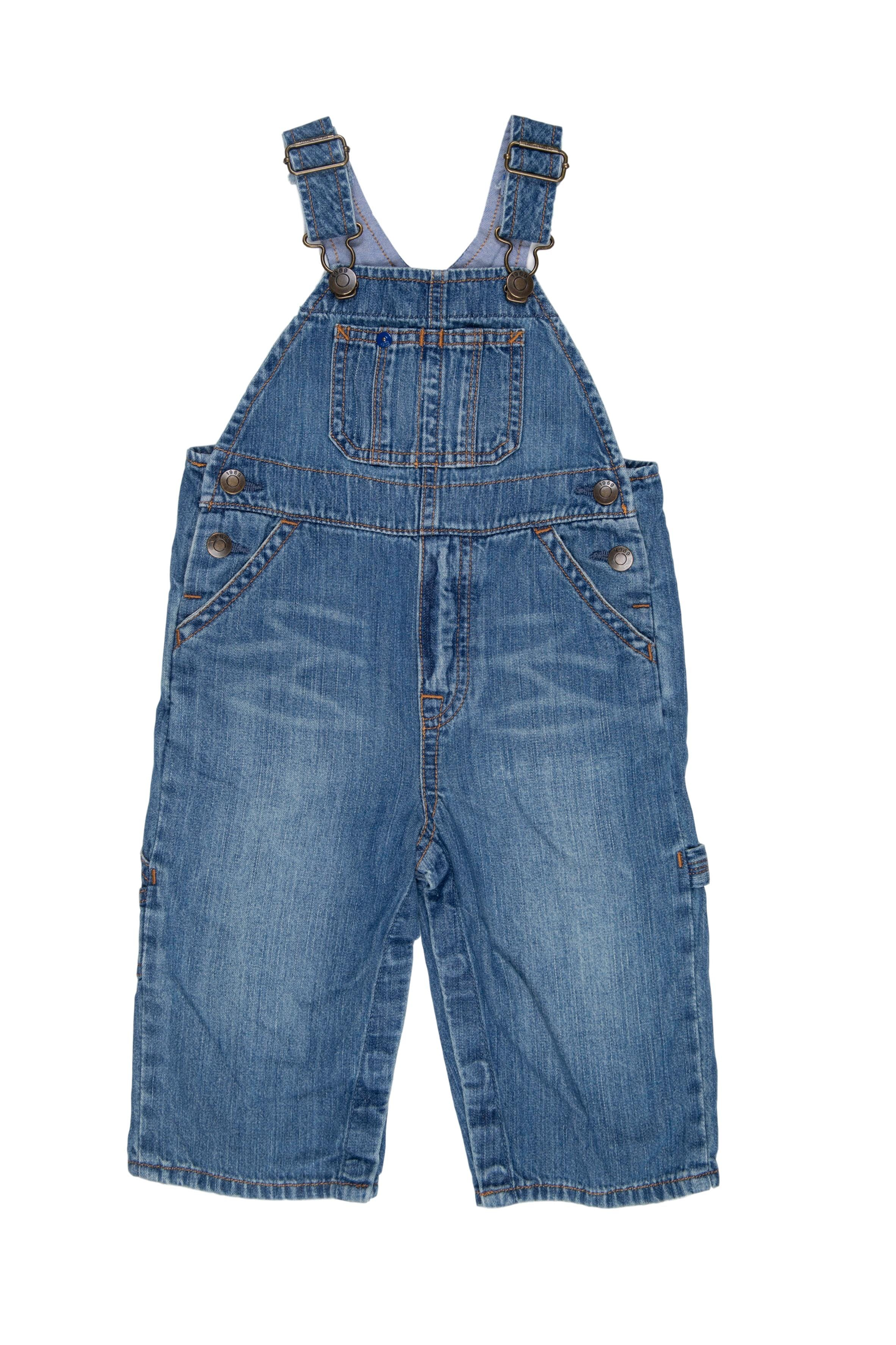 Overol jean 100% algodón - Babygap