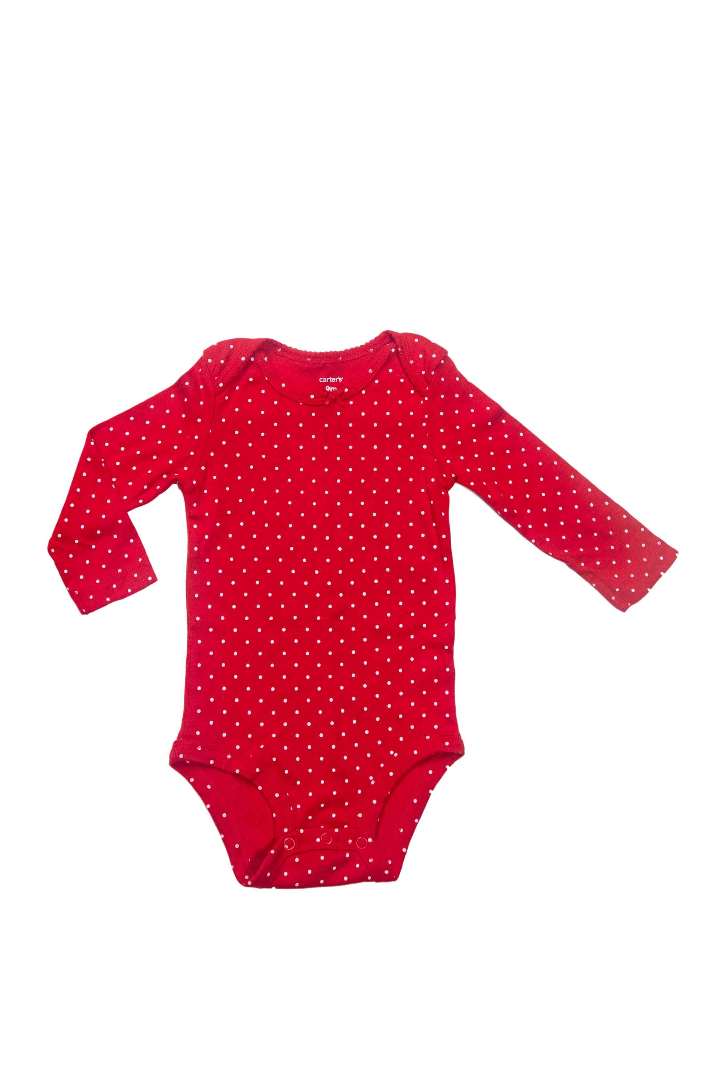 Body color rojo con puntos blancos, 100% algodón - Carter's