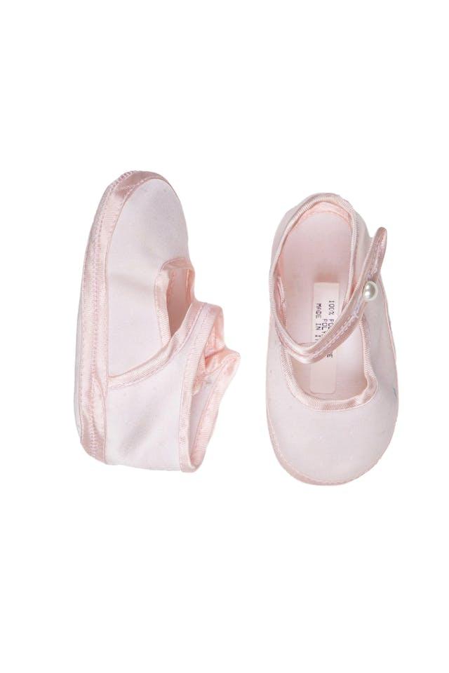 Talla 18. Balerinas de tela con planta de tela completamente flexible. Hechas en Italia - Raletta foto 2