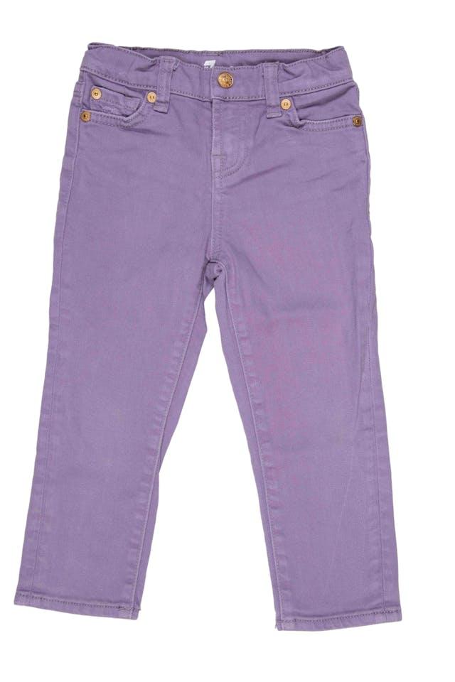 Jean lila elastico interno para ajustar. Precio original S/ 190 - 7 For All Mankind foto 1