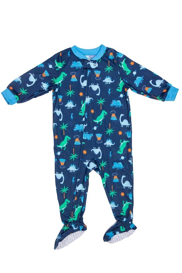 Pijama enterizo dinosaurios, tela delgada - Carter's foto 1