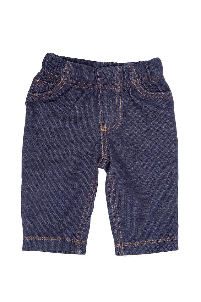Pantalón simil jean de 100% algodón - Carter's foto 1