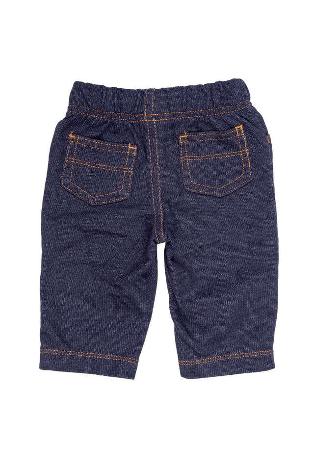 Pantalón simil jean de 100% algodón - Carter's foto 2