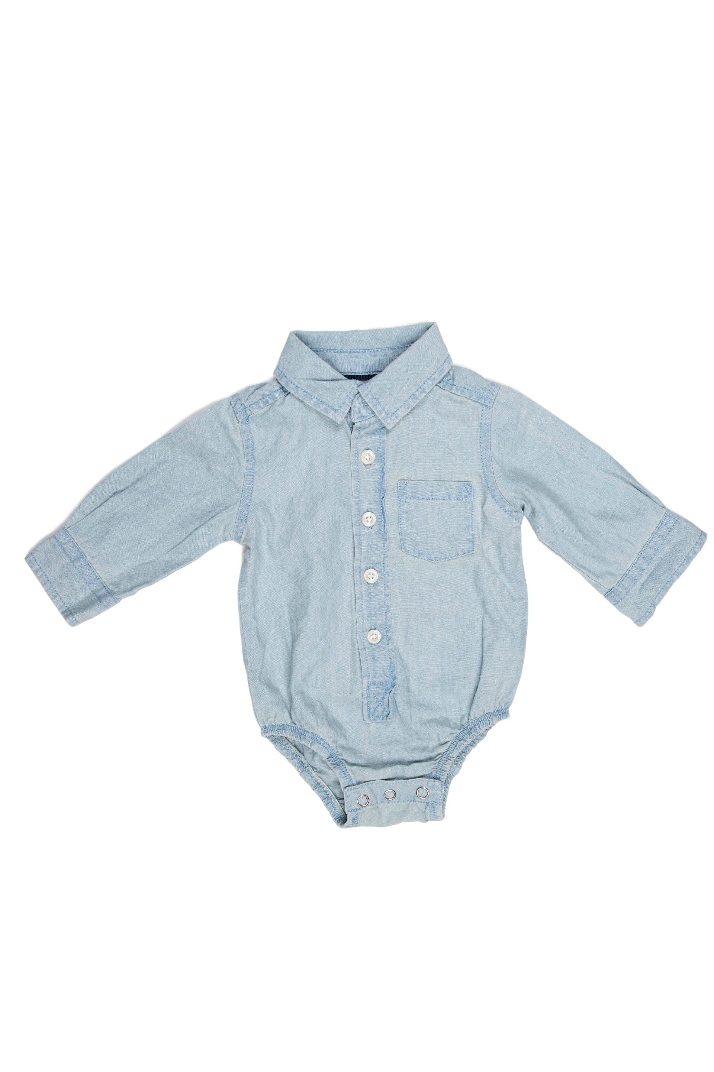 Body - camisa de jean 100% algodón - Cherokee