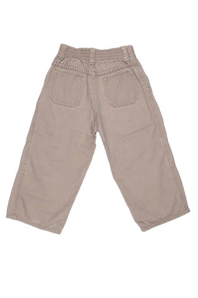 Pantalon drill pierna ancho 100% algodón - Little Step foto 2