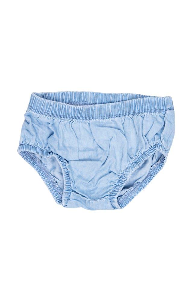 Vestido imitacion jean con corazones vinee con calzón en juego. Talla 12 en etiqueta - Carter's foto 2
