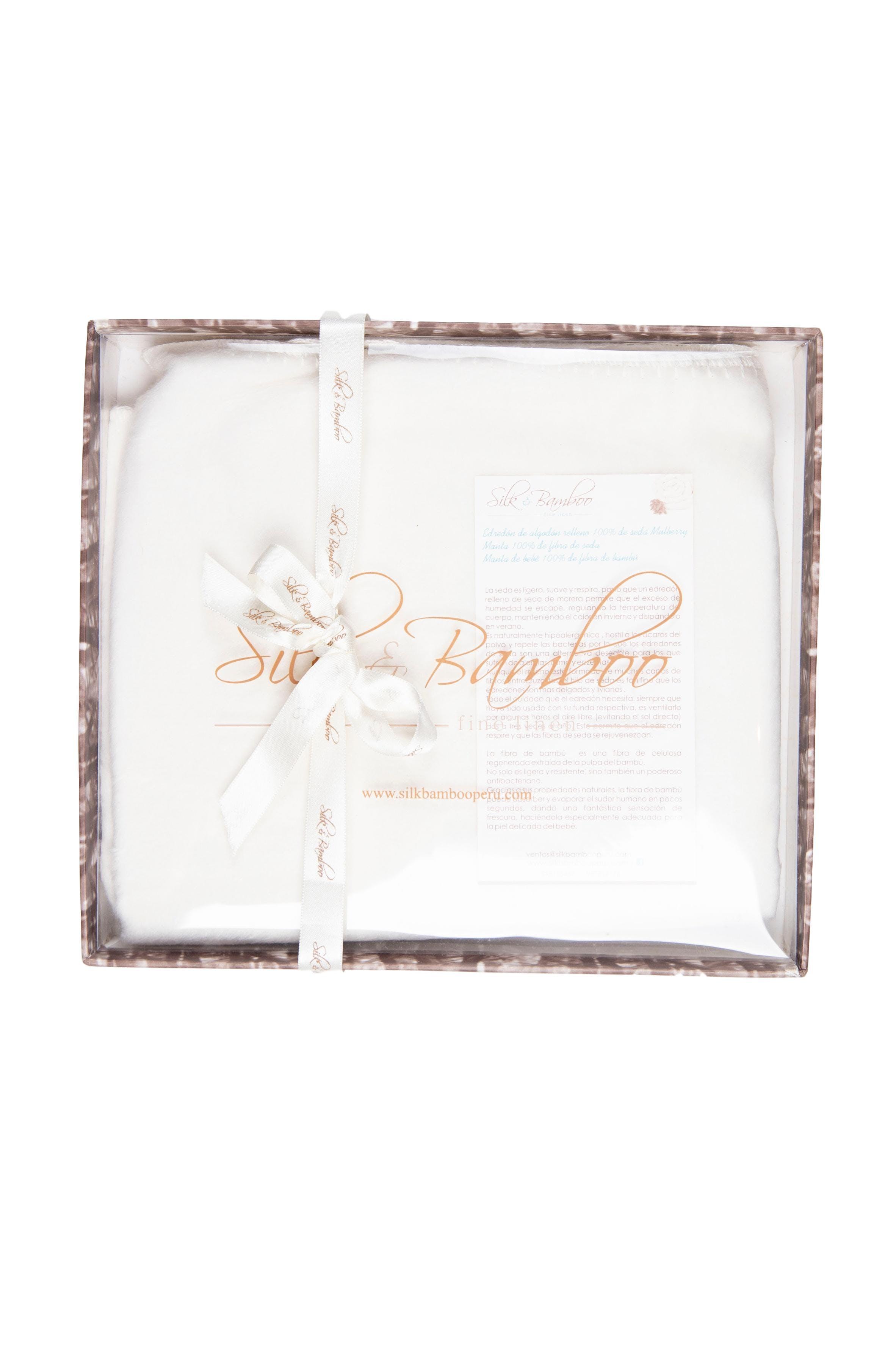 Manta de fibra de seda y algodón - Silk And Bamboo