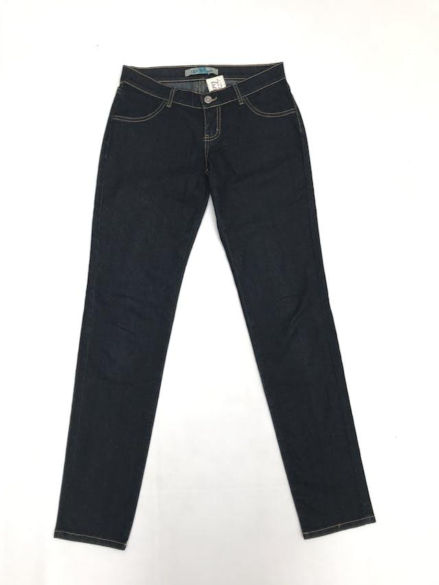 Pantalón jean, corte slim, 97% algodón foto 1
