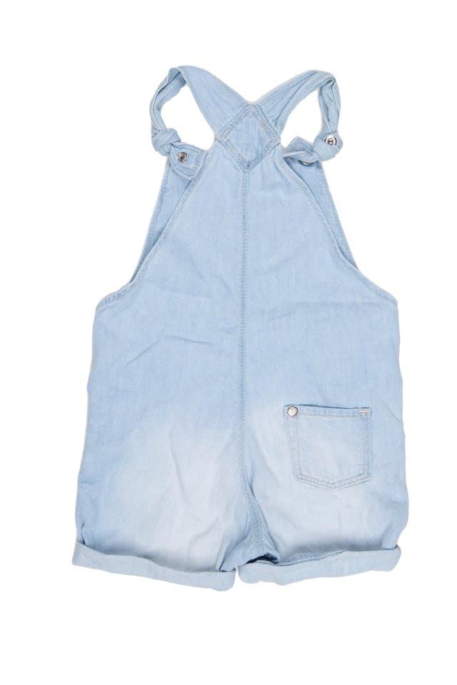 overol short de jean con conejo, tiras ajustables.100% algodón. - H & M foto 2
