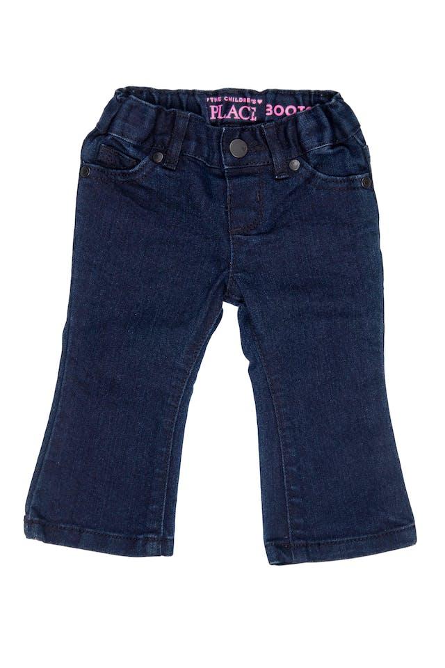jean azul oscuro con elastico ajustable. - The Children`s Place foto 1