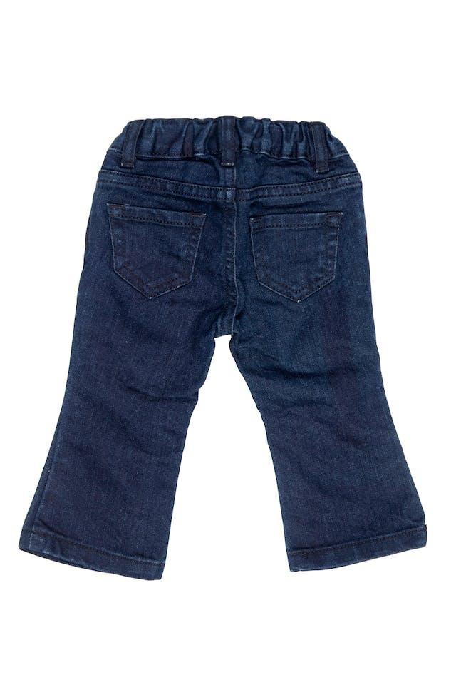 jean azul oscuro con elastico ajustable. - The Children`s Place foto 2