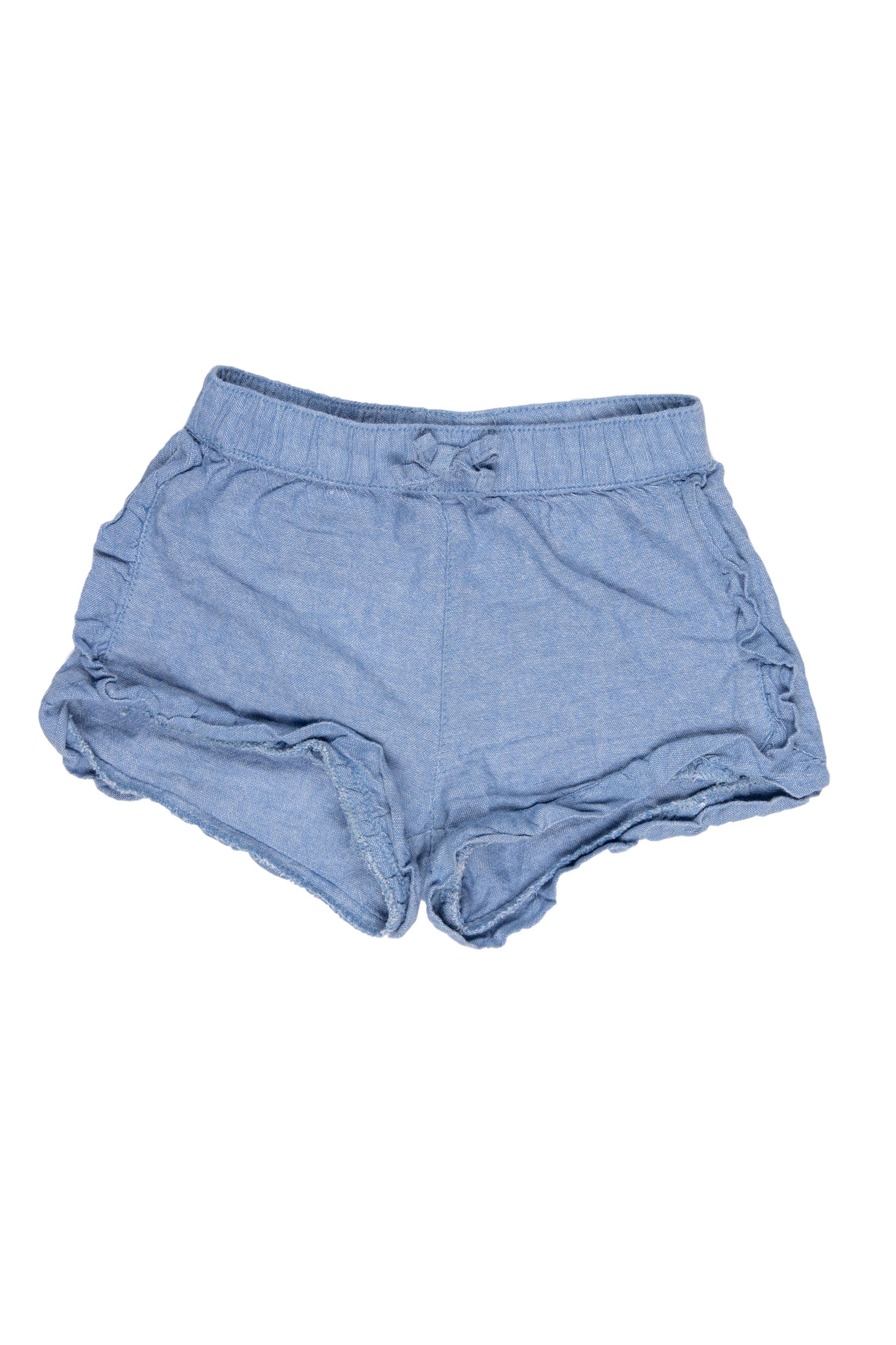 Short de tela simil jean 100% algodón - Yamp