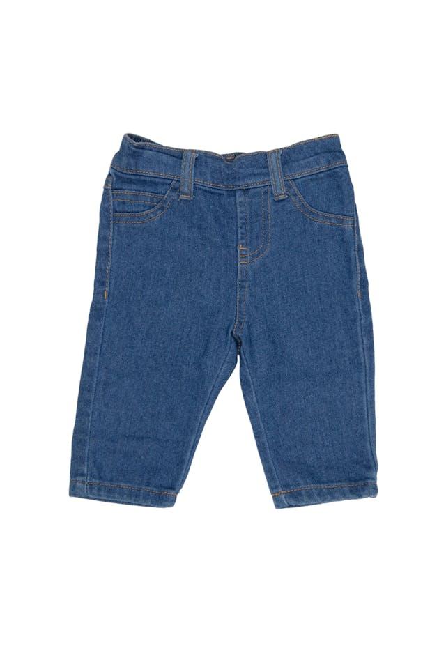Jean azul cintura elastica - Yamp! foto 1