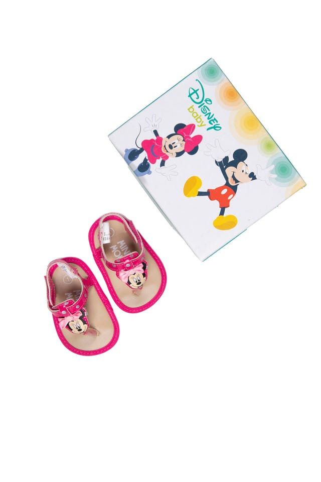 Sandalias Minnie con caja. Talla 1 - Disney foto 1