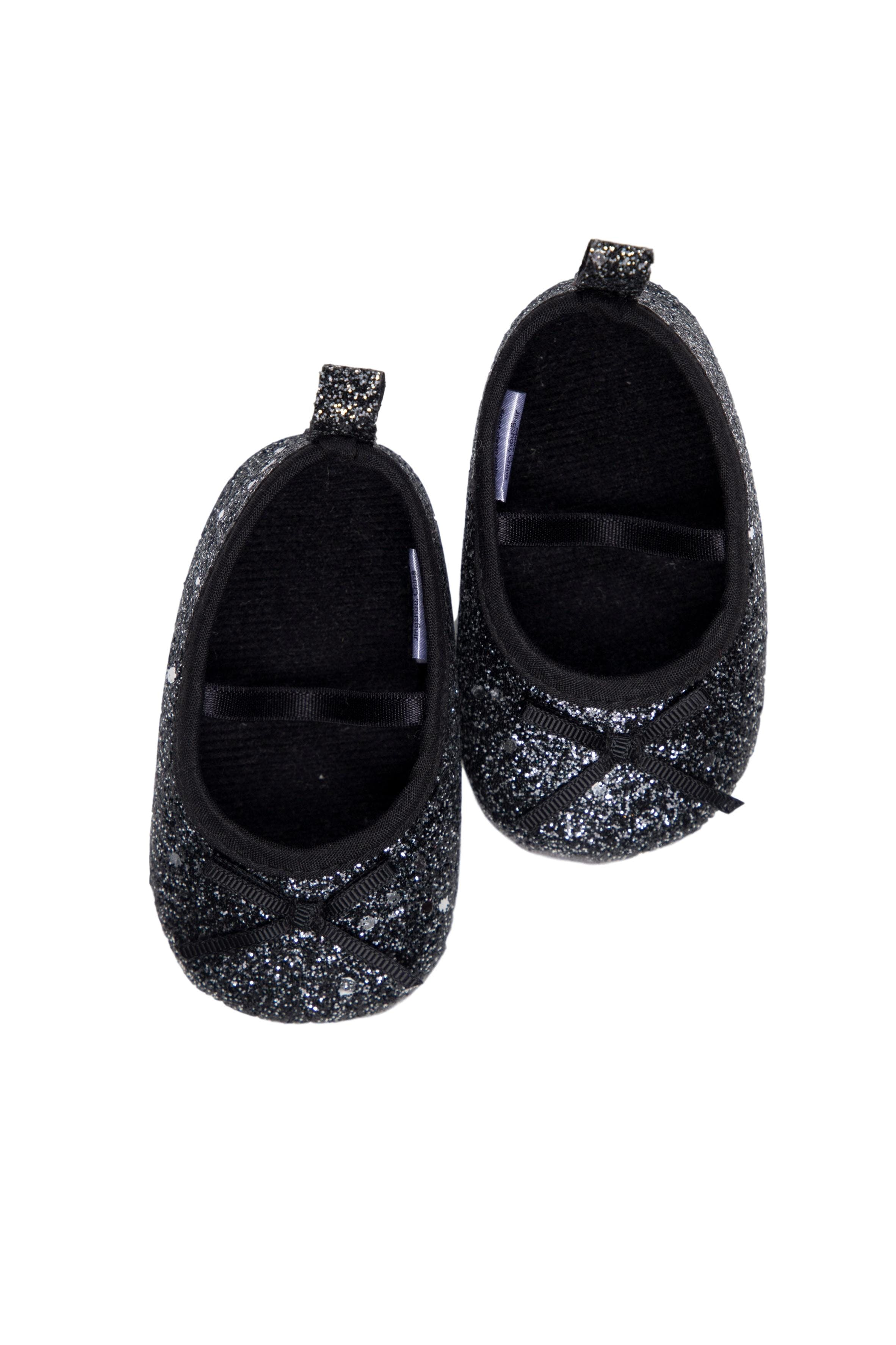 Ballerinas negras con escarchado - Little Treasure