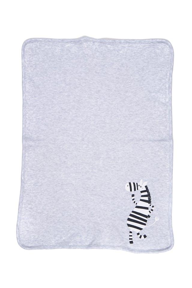 Pack 2 bota chancho. uno con textura color celeste, toalla por detrás marca periquita y otro cuadrado  gris con cebra marca urb. ambos 100% algodón - Urb foto 3