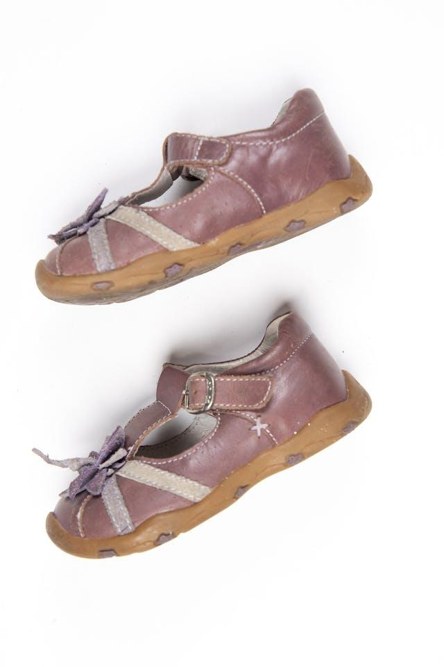 Zapatos con correa marrones - Colloky foto 1
