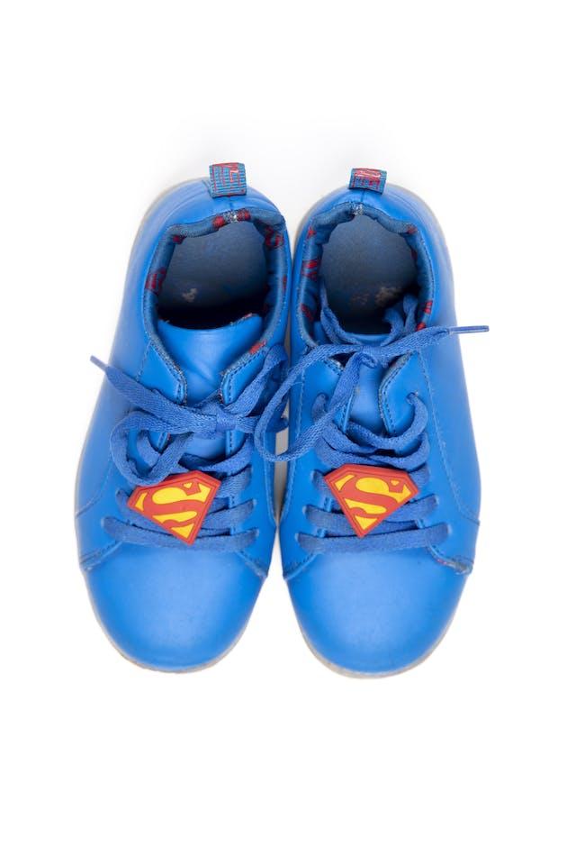 zapatillas superman con luz - liga de la justicia foto 1