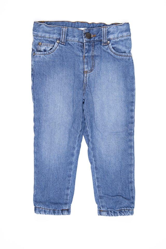 jean azul con forro - TRIBU foto 1