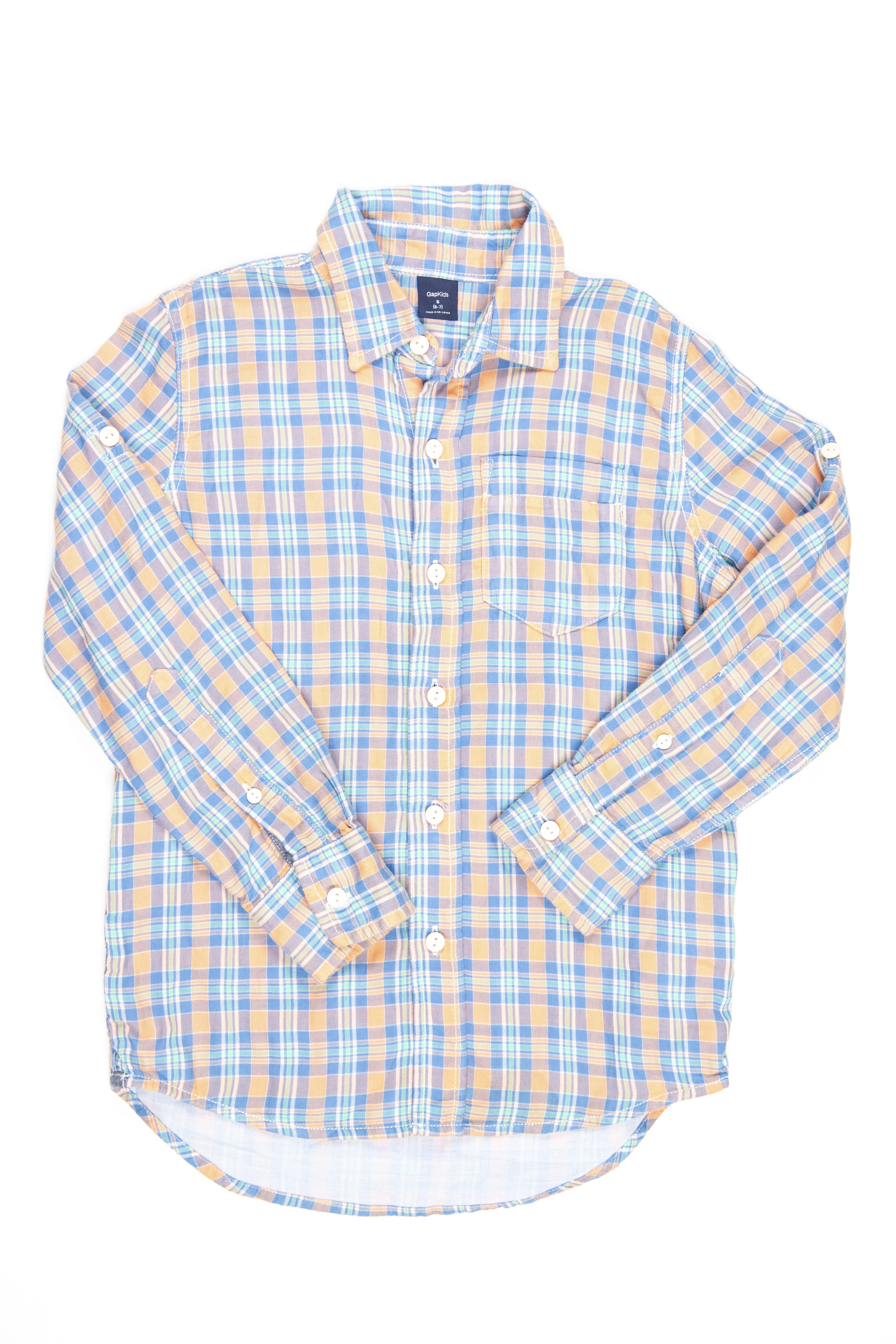 Camisa a cuadros 100% algodón - Gap