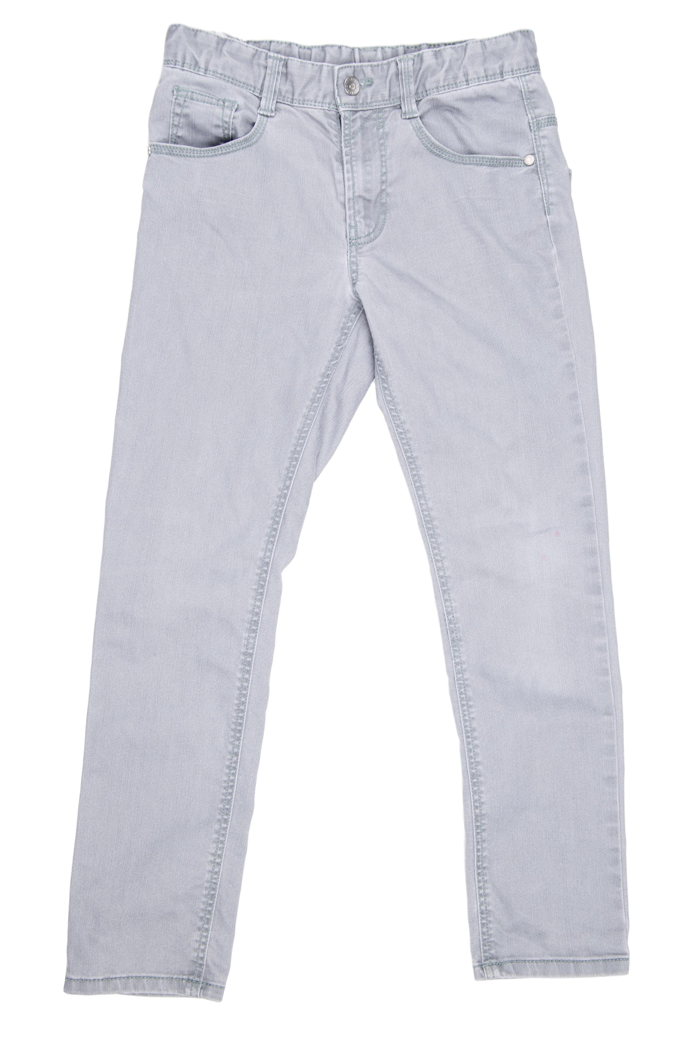 Jean gris cintura regulable, Talla en etiqueta 10 - 11 años - Benetton