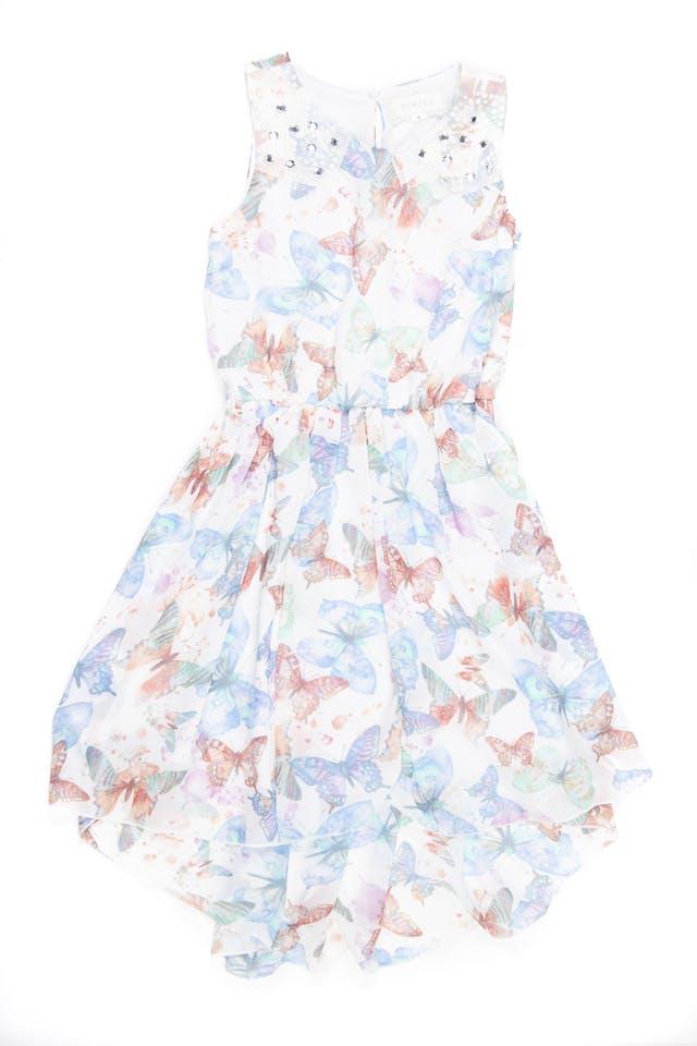 Vestido de gasa con mariposas - Btween foto 1