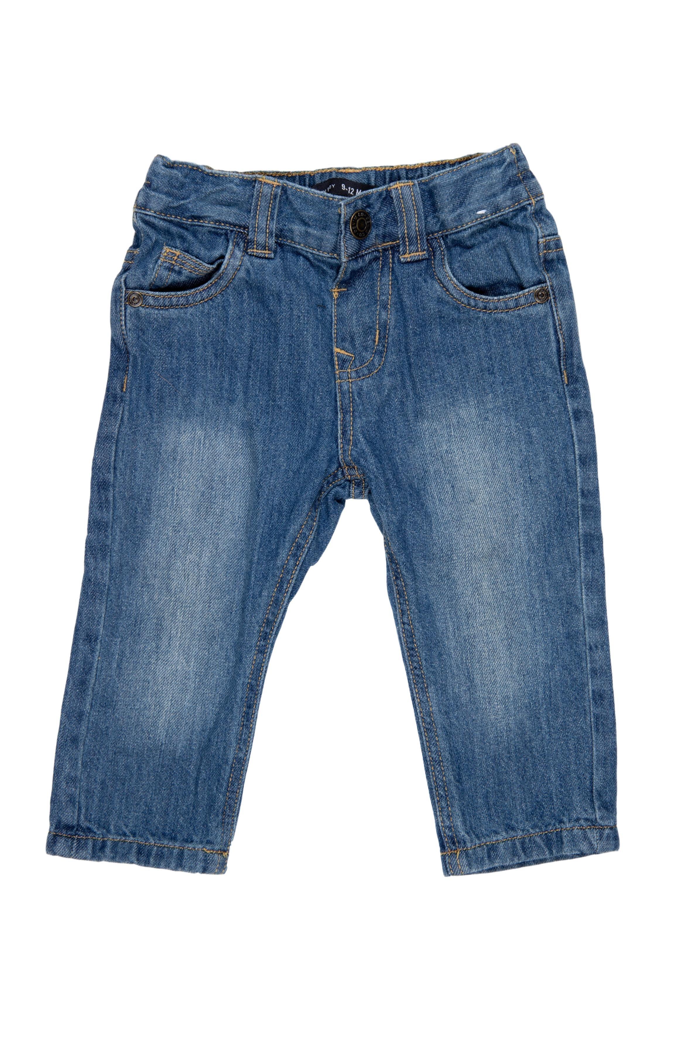 Jean cintura regulable, 100% algodón - Baby Boy