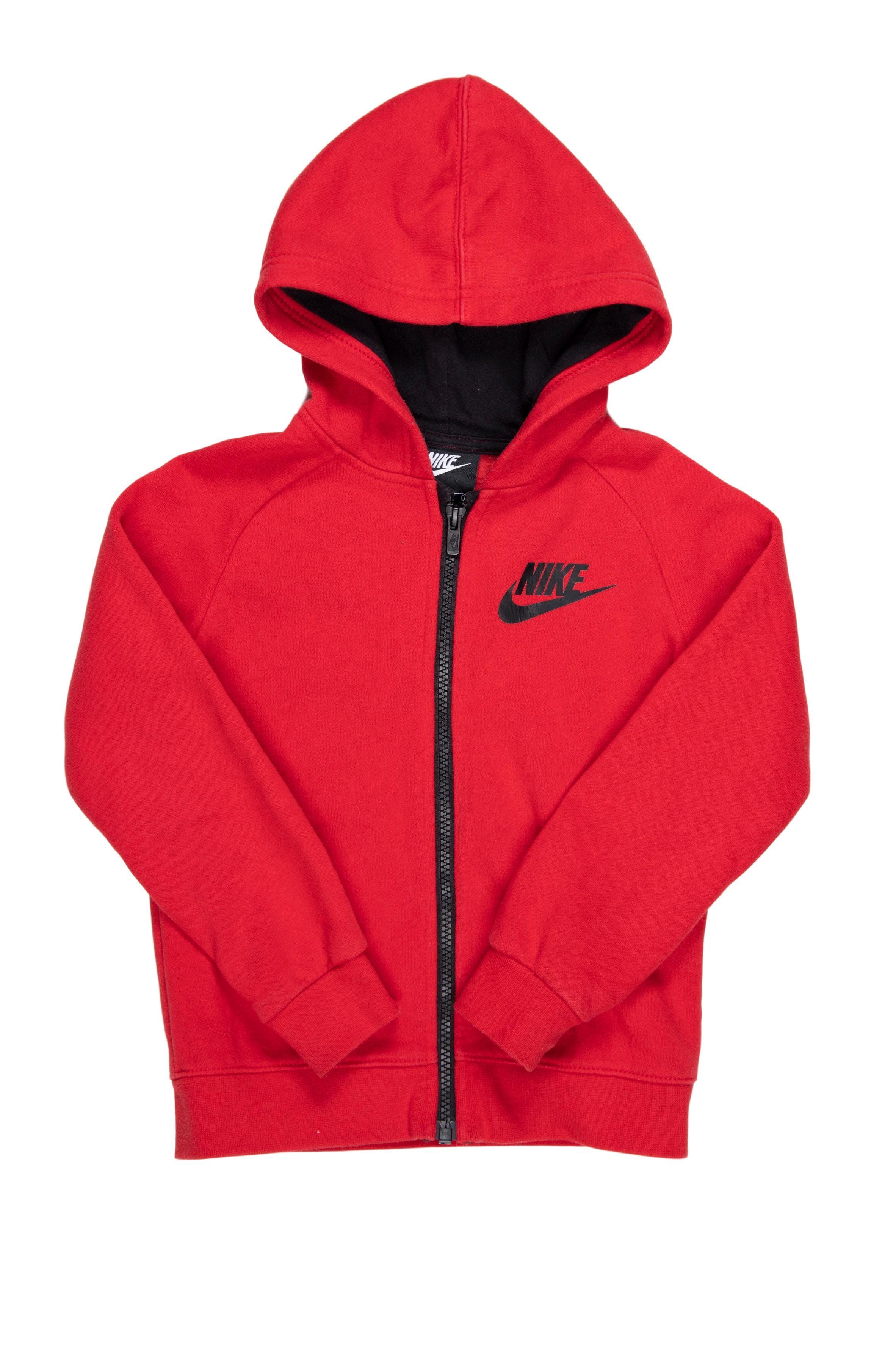 Casaca de buzo Nike roja