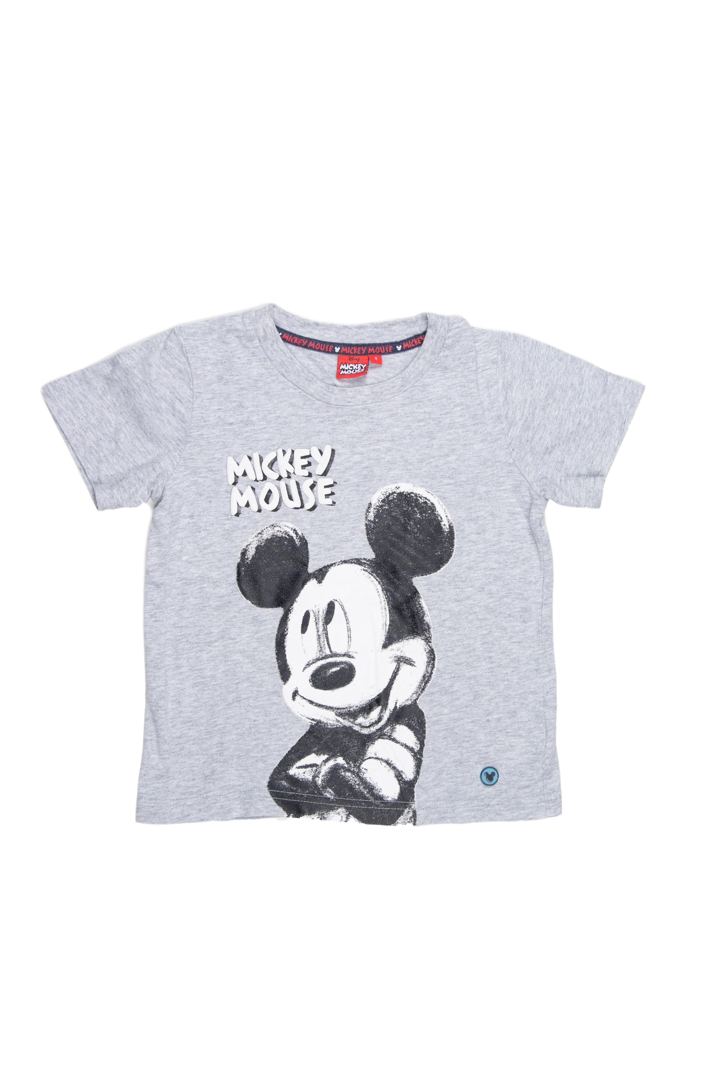 Polo plomo de mickey mouse