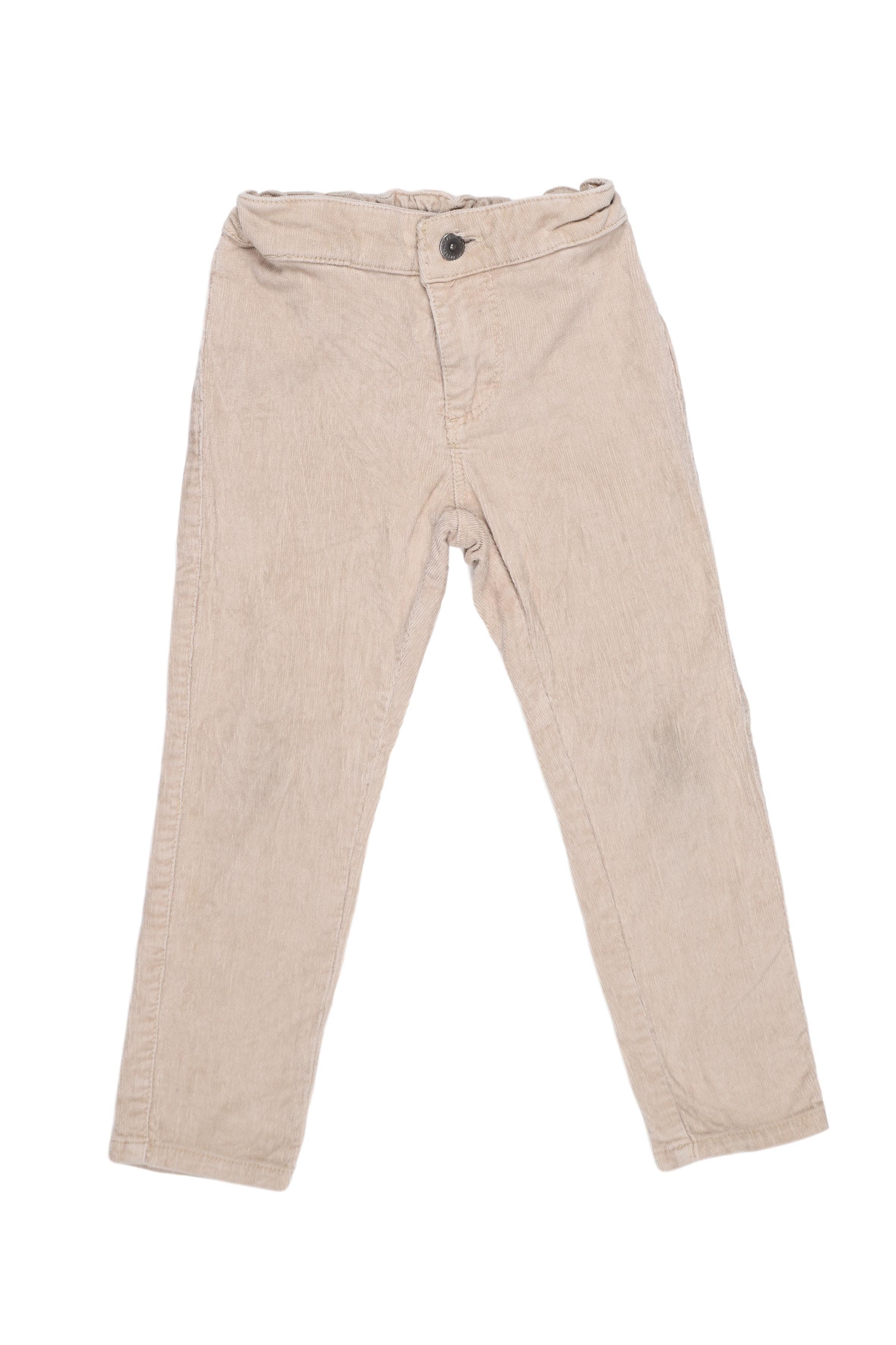 Pantalón de corduroy 98% algodón 2% elastano - Yamp