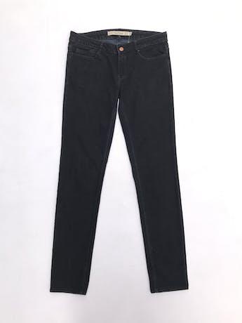 Pantalón jean negro Zara corte slim foto 1