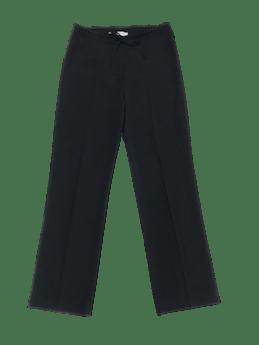 Pantalón Mango a la cintura, tela tipo sastre delgada con linda caída, pierna recta, cierre delantero y cinto regulable. Cintura 80cm. Precio original S/ 200 foto 1