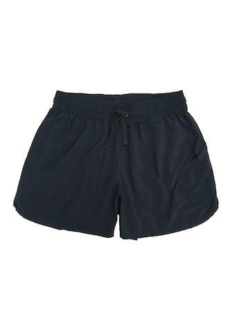 Short deportivo Columbia 100 % nylon negro, pretina elástica.  foto 1