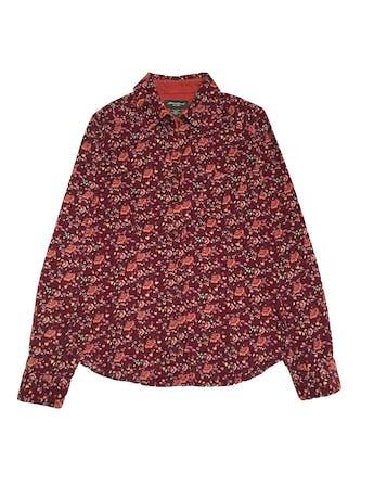 Blusa de corduroy Eddie Bauer, 100% algodón, modelo camisero con bolsillos en el pecho. foto 1