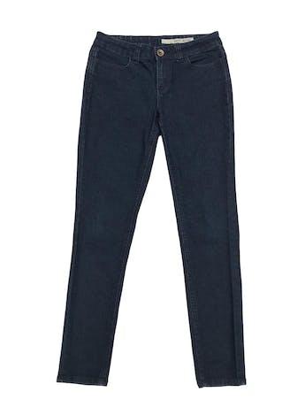 Jean DKNY corte slim, mid rise, con bolsillos laterales y traseros. Pretina 80cm foto 1