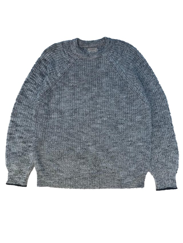 Chompa Pull&Bear gris jaspeada, oversize. Ancho 120cm Largo 65cm foto 1