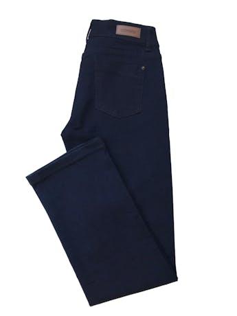 Pantalón jean University club azul oscuro ligeramente stretch, pierta recta. Nuevo. Cintura 76cm foto 3