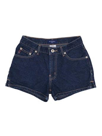 Short vintage Guess de jean azul 100% algodón. Cintura 66cm Largo 30cm foto 1