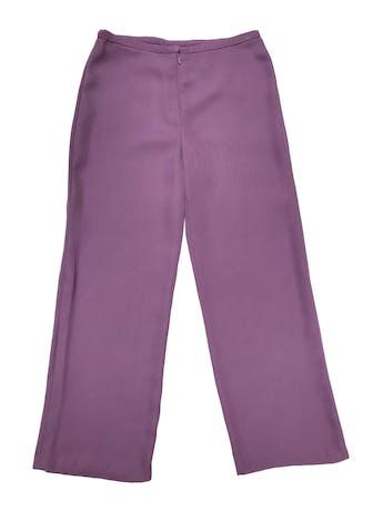 Pantalón a la cintura corte recto, tela tipo gasa gruesa fluida. ¡Hermoso color! Cintura 84cm Cadera 106cm foto 1