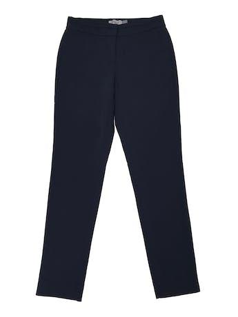 Pantalón Apology tipo sastre slim fit ligeramente stretch, bolsillos laterales y elástico posterior en la pretina. Pretina 75cm sin estirar Cadera 105cm Largo 98cm foto 1
