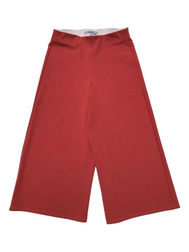 Culotte Basement en tono ocre con elástico en la cintura (68cm sin estirar) Largo 78cm foto 1