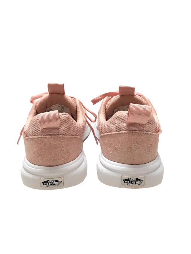 Zapatillas Vans Ultracush palo rosa y blanco. Estado 9/10. Precio original S/ 319 foto 3