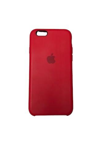 Case Iphone de silicona roja con interior agamuzado. Para iPhone 6 / 6s / 7 / 8 / SE foto 1