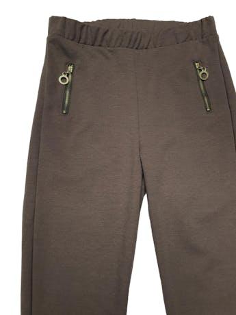 Legging de tela tipo algodón stretch grueso, con cierre a los lados. Cintura 68cm sin estirar Largo 95cm foto 2